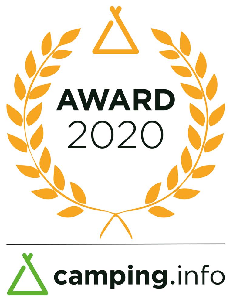 Auszeichnung Camping Award 2020